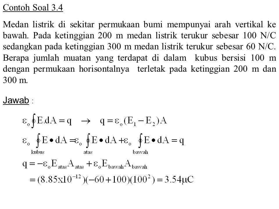 Contoh Soal 3.4