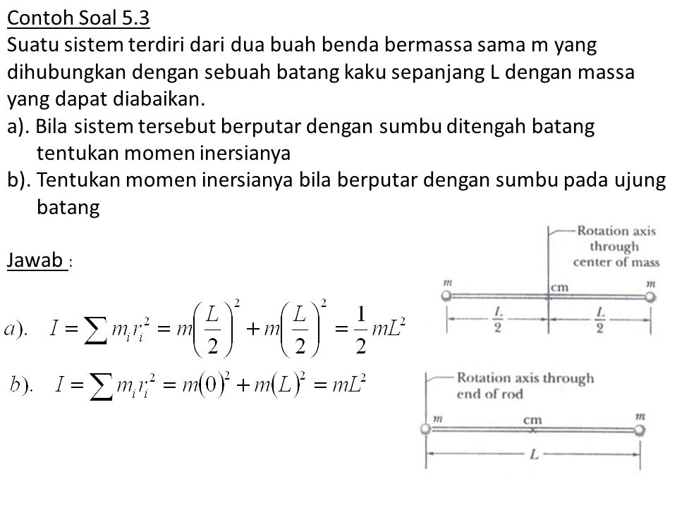 Contoh Soal 5.3