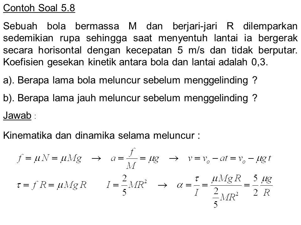 Contoh Soal 5.8