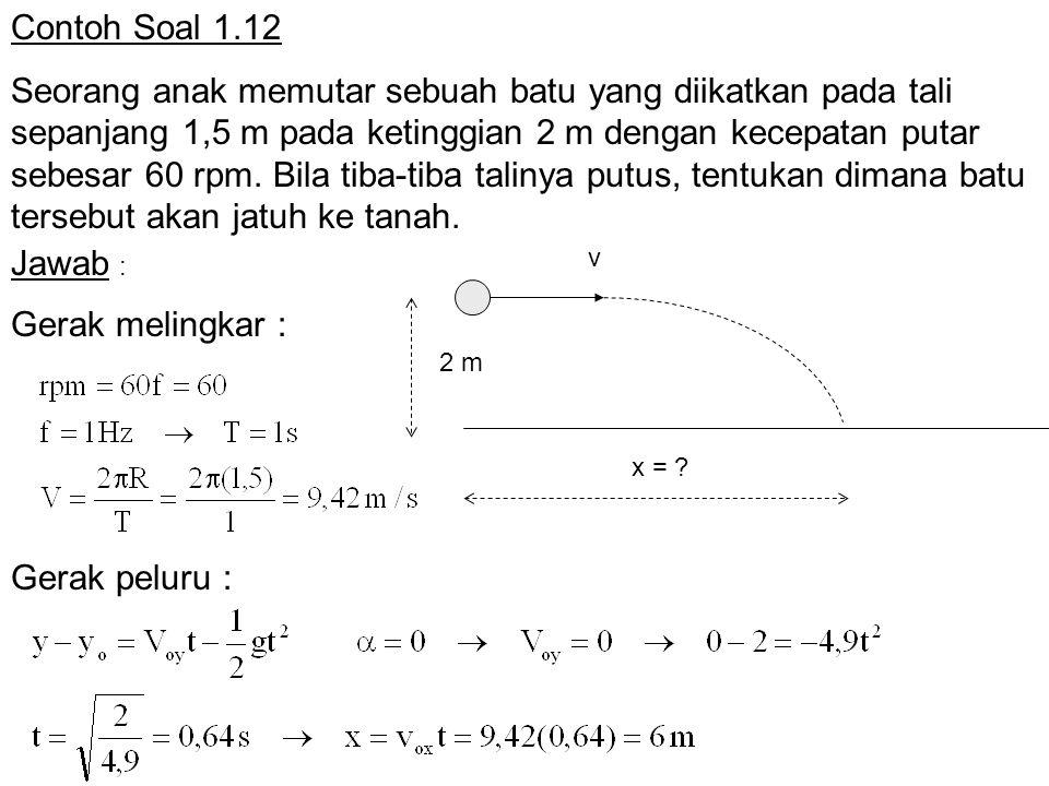 Contoh Soal 1.12