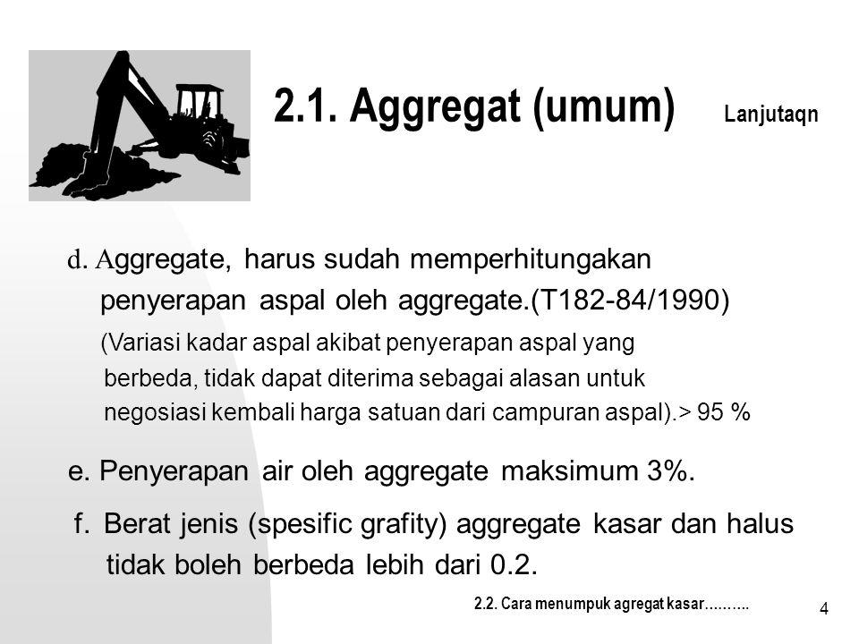2.1. Aggregat (umum) Lanjutaqn