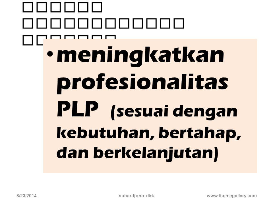Tujuan Pengembangan Profesi…