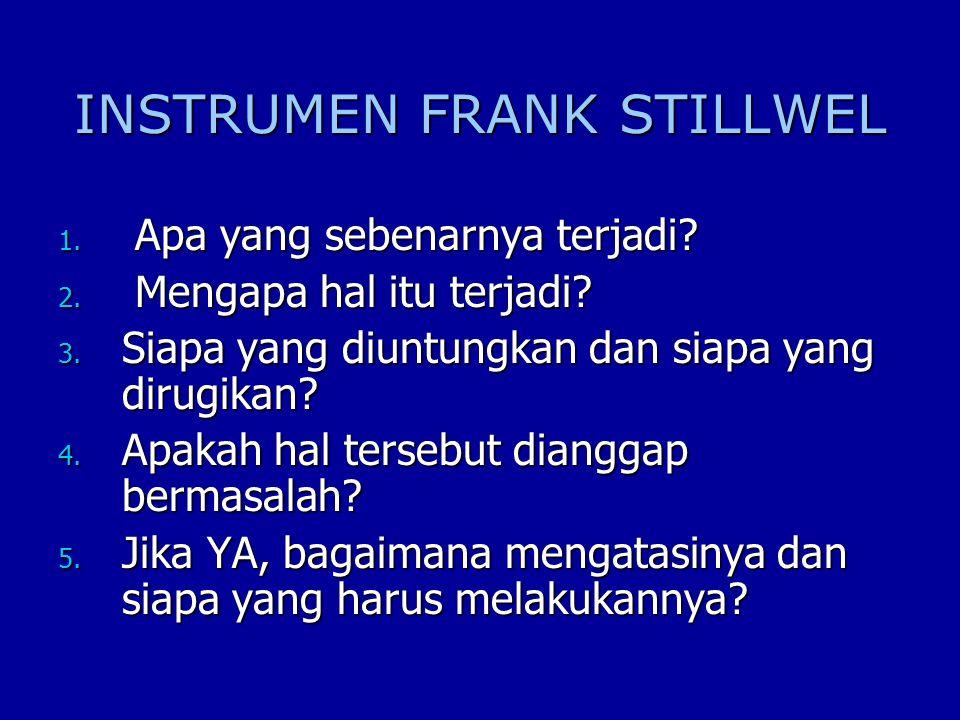 INSTRUMEN FRANK STILLWEL