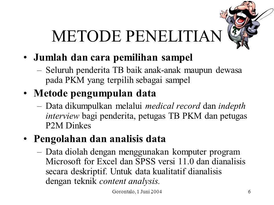 METODE PENELITIAN Jumlah dan cara pemilihan sampel
