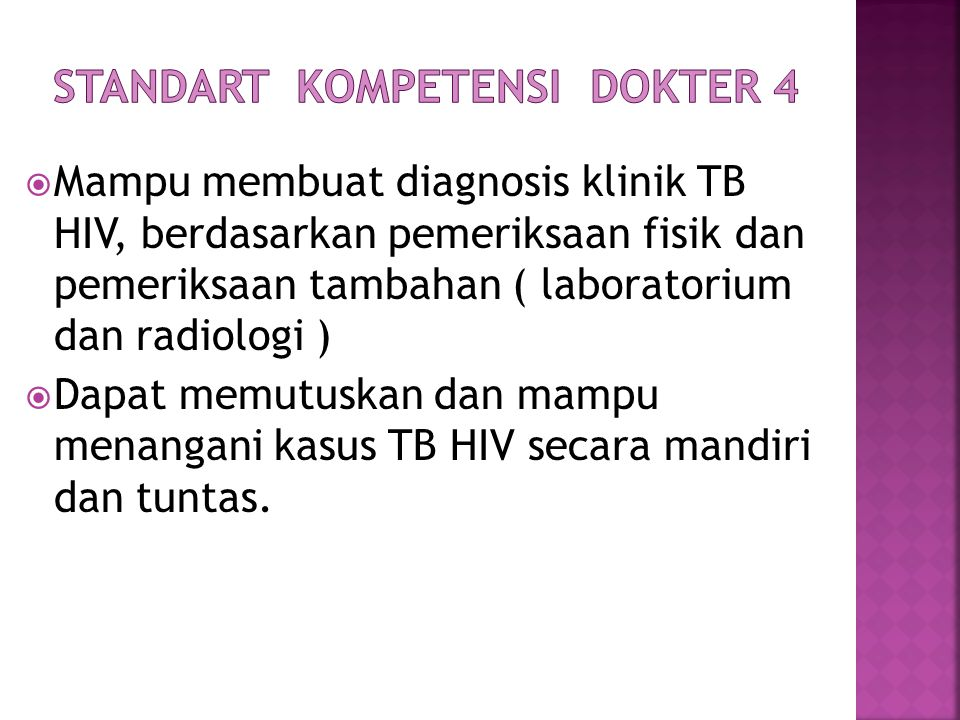Standart Kompetensi Dokter 4