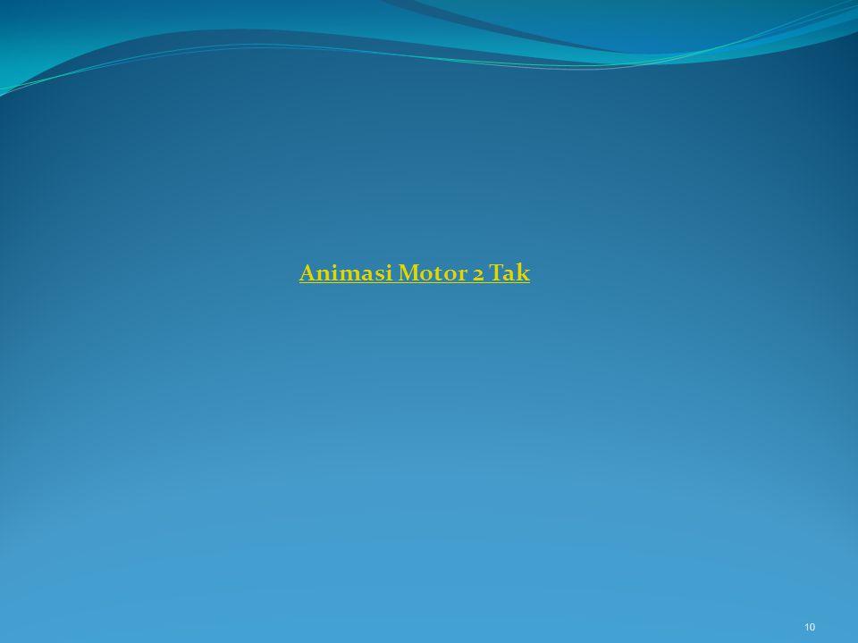 Animasi Motor 2 Tak