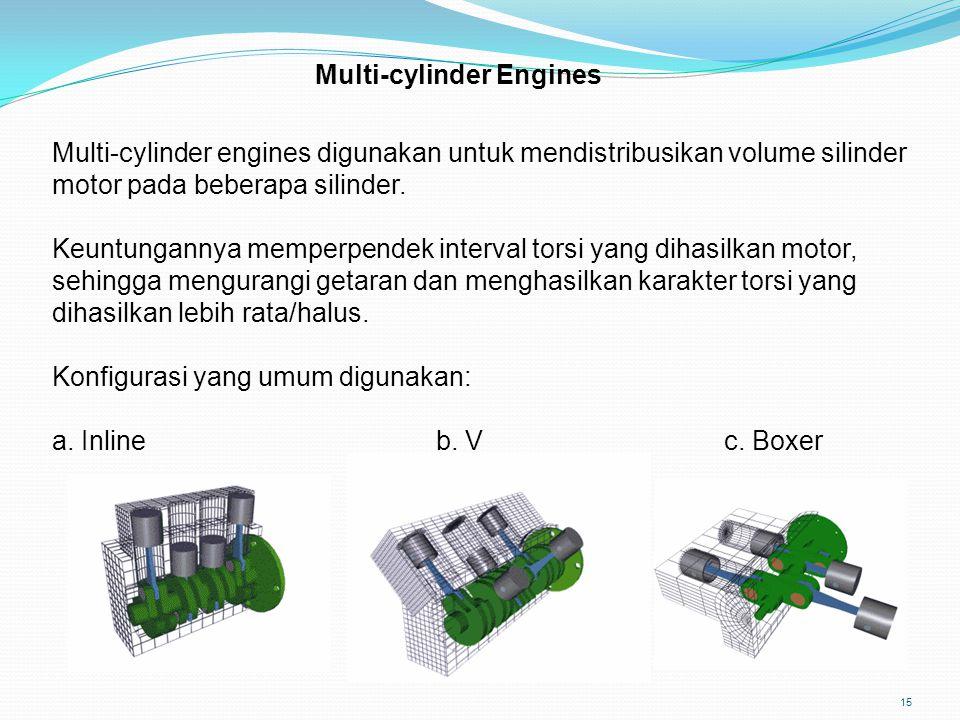 Multi-cylinder Engines
