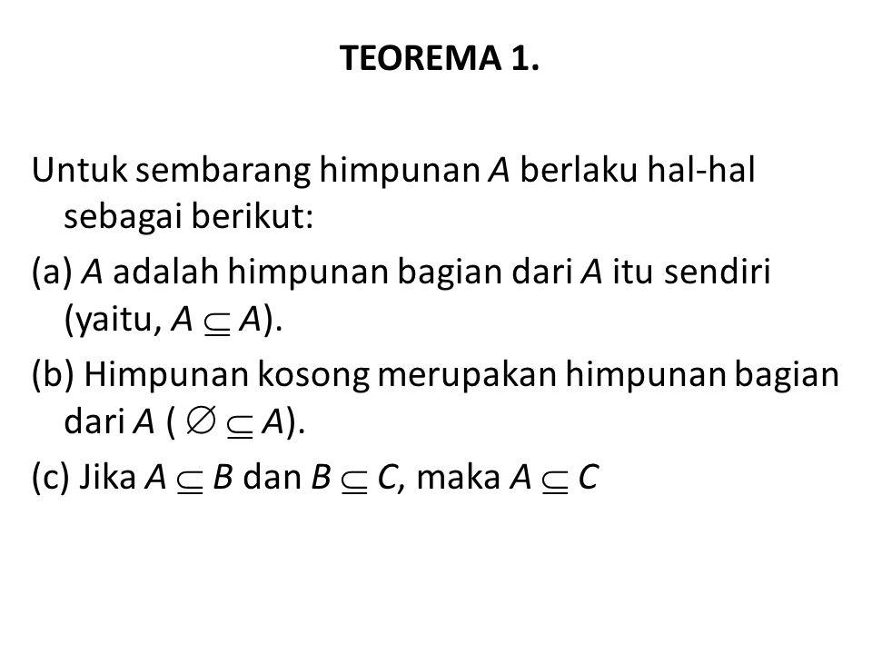 TEOREMA 1.