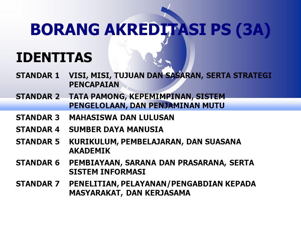 BORANG AKREDITASI PS (3A)