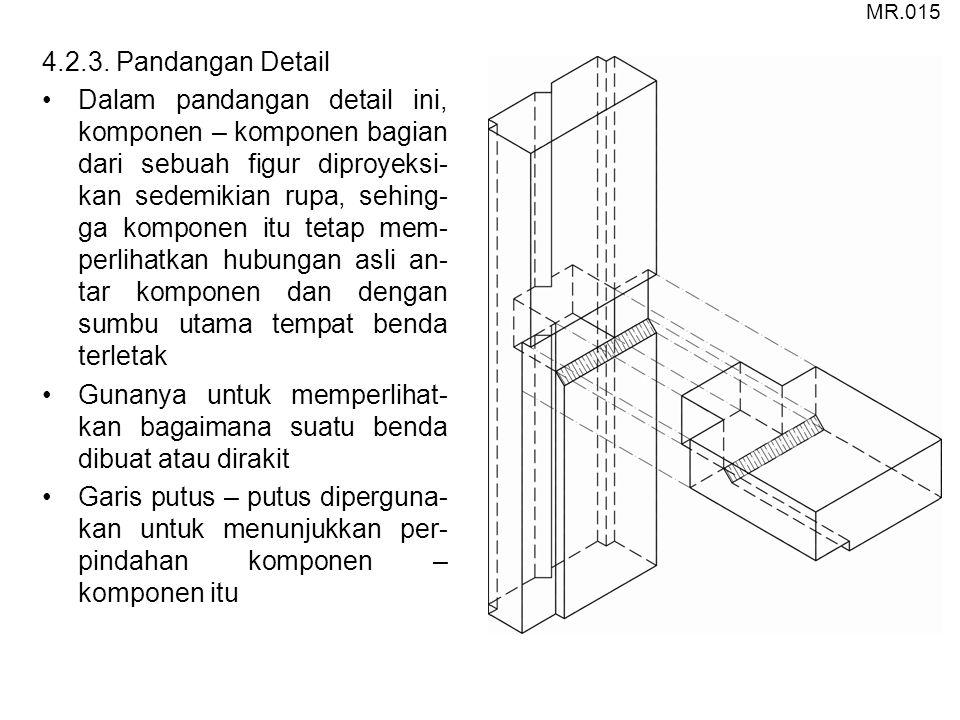 MR.015 4.2.3. Pandangan Detail.