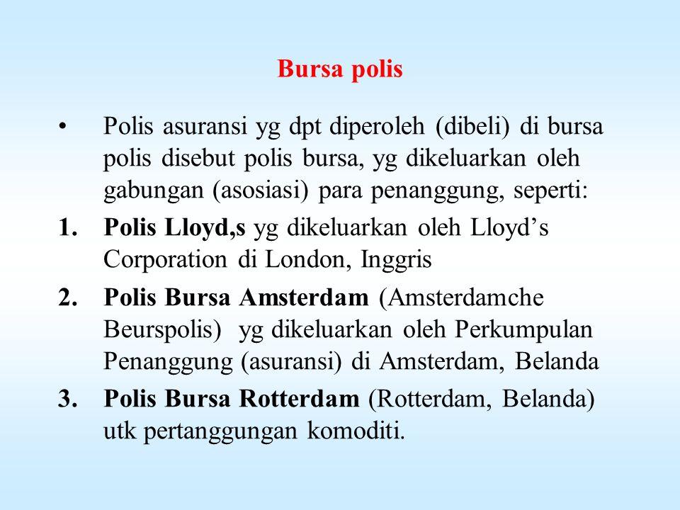 Bursa polis