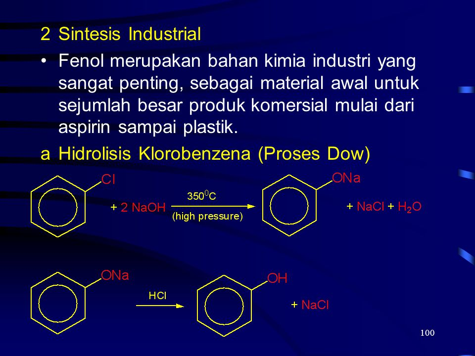 Hidrolisis Klorobenzena (Proses Dow)