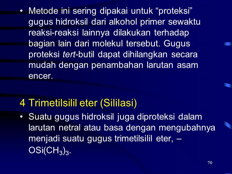 Trimetilsilil eter (Sililasi)