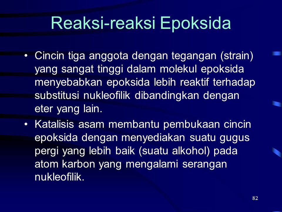 Reaksi-reaksi Epoksida