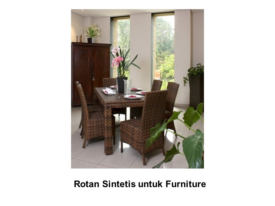 Rotan Sintetis untuk Furniture