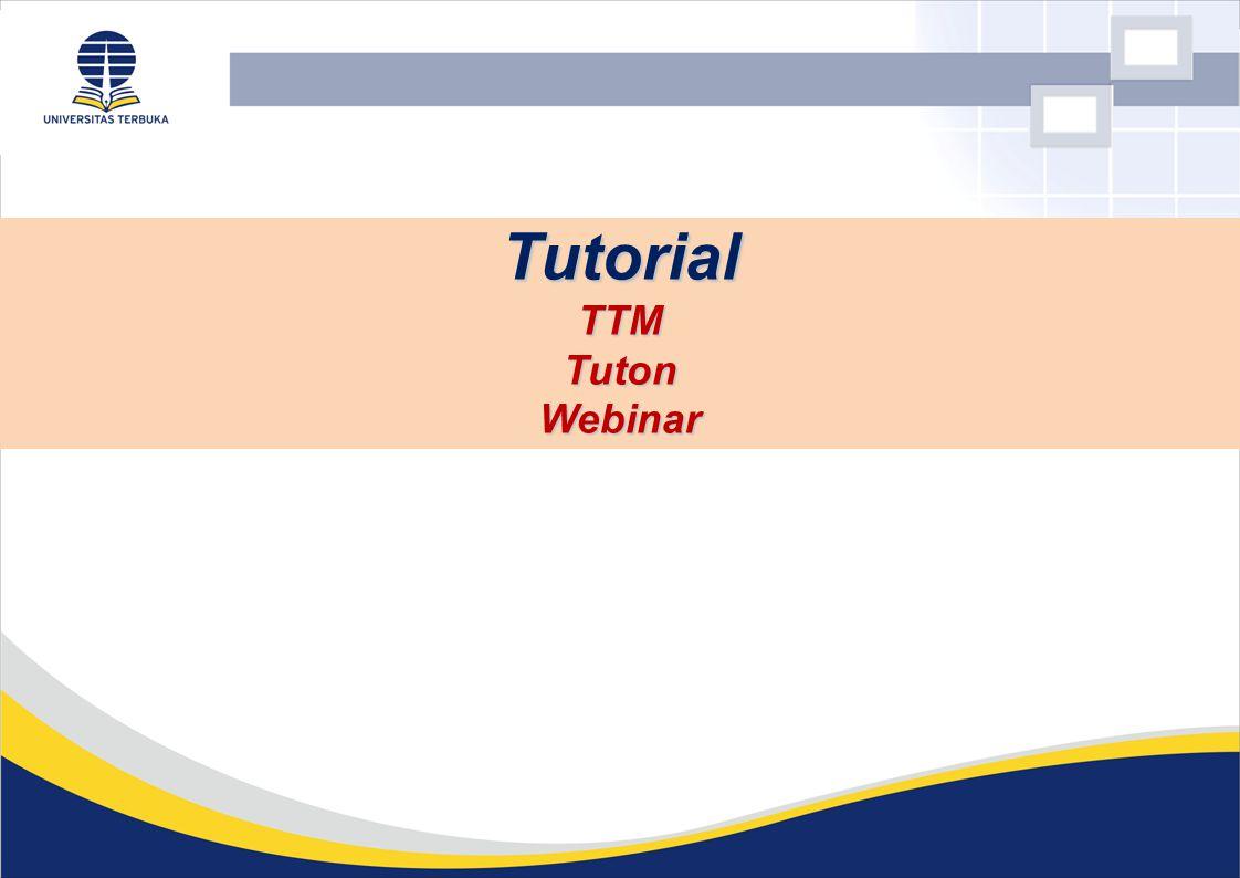 Tutorial TTM Tuton Webinar