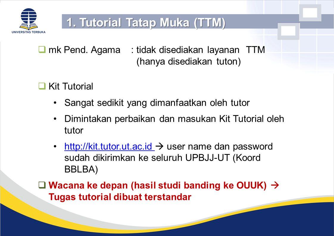 1. Tutorial Tatap Muka (TTM)