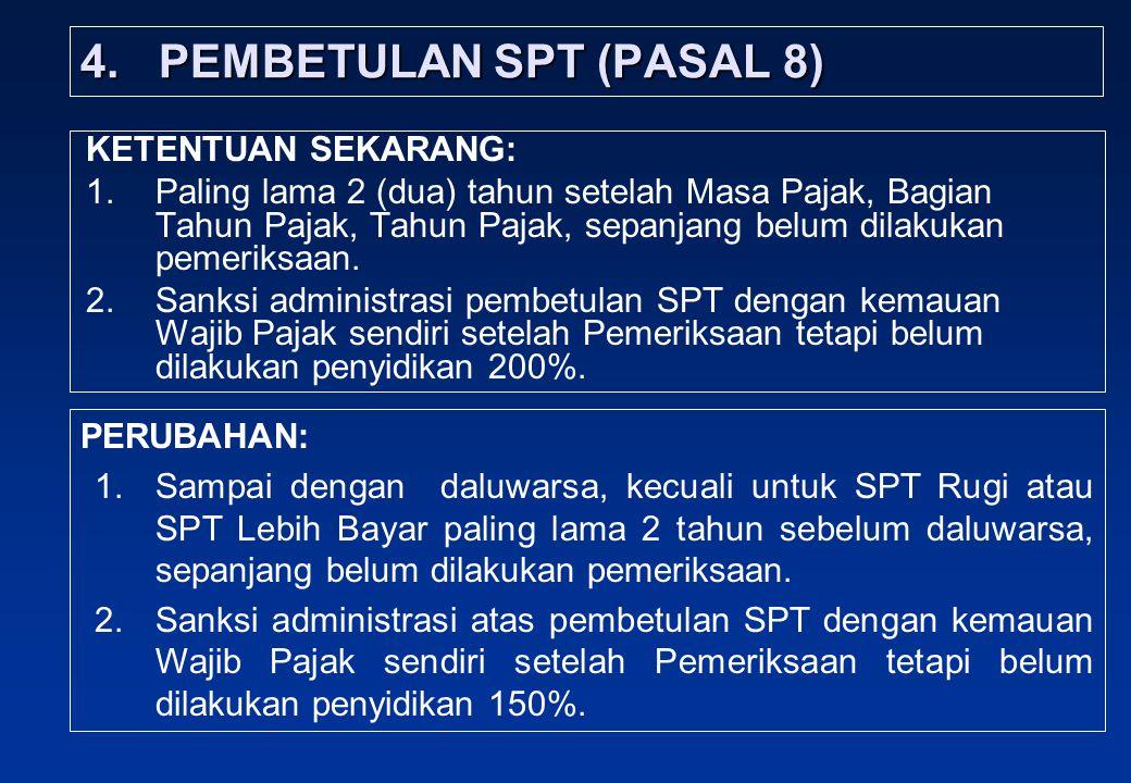 4. PEMBETULAN SPT (PASAL 8)