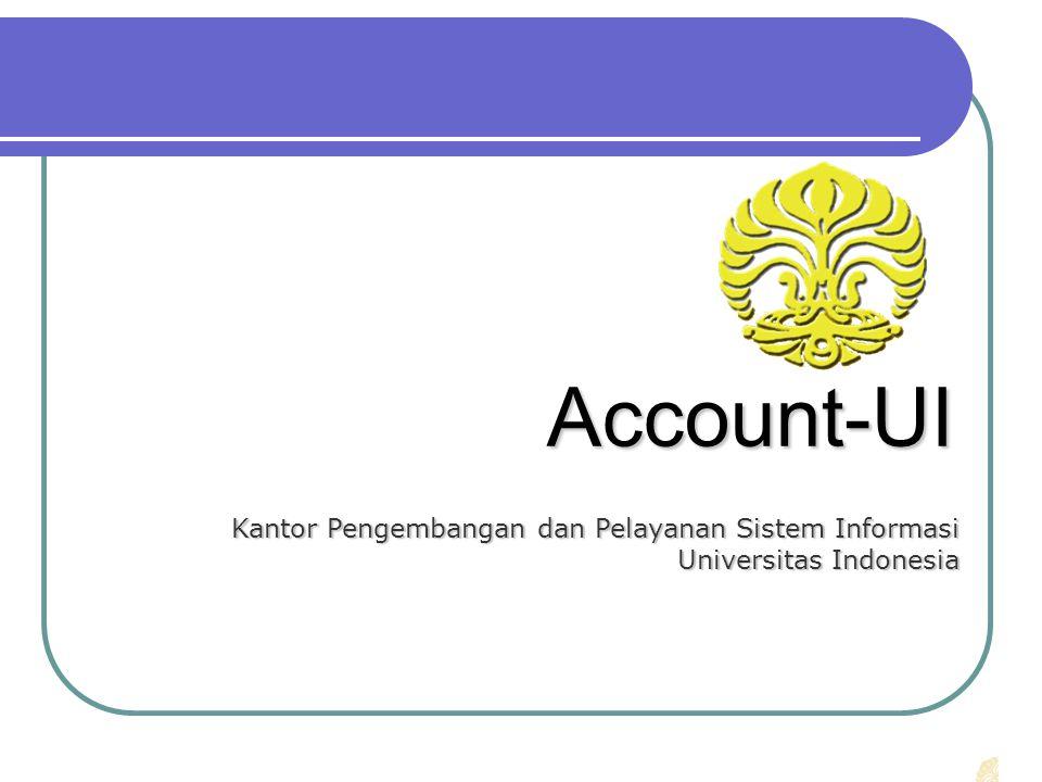 Account-UI Kantor Pengembangan dan Pelayanan Sistem Informasi