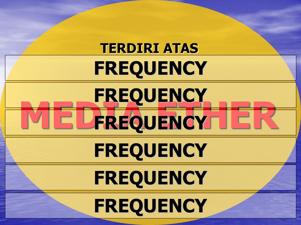 MEDIA ETHER FREQUENCY FREQUENCY FREQUENCY FREQUENCY FREQUENCY
