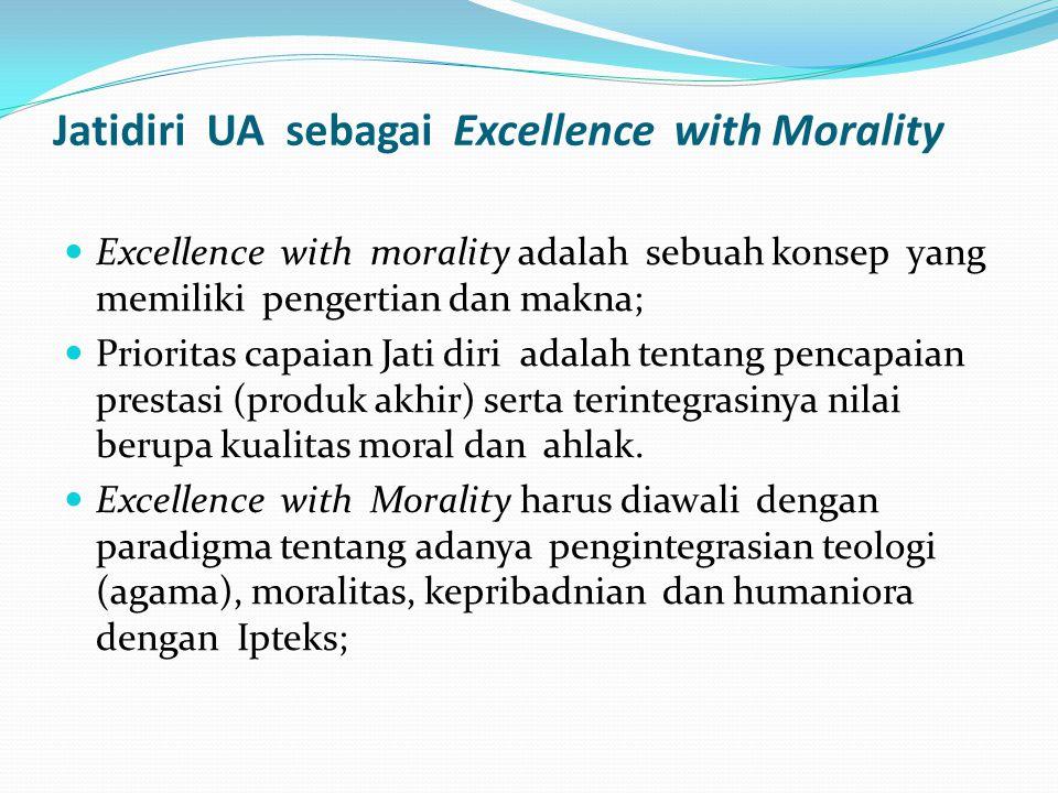 Jatidiri UA sebagai Excellence with Morality