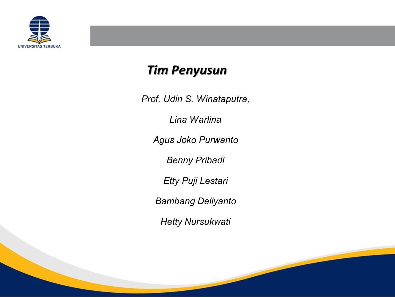 Prof. Udin S. Winataputra,