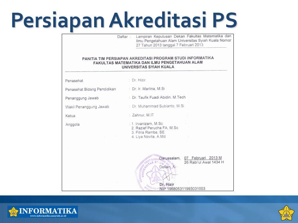 Persiapan Akreditasi PS