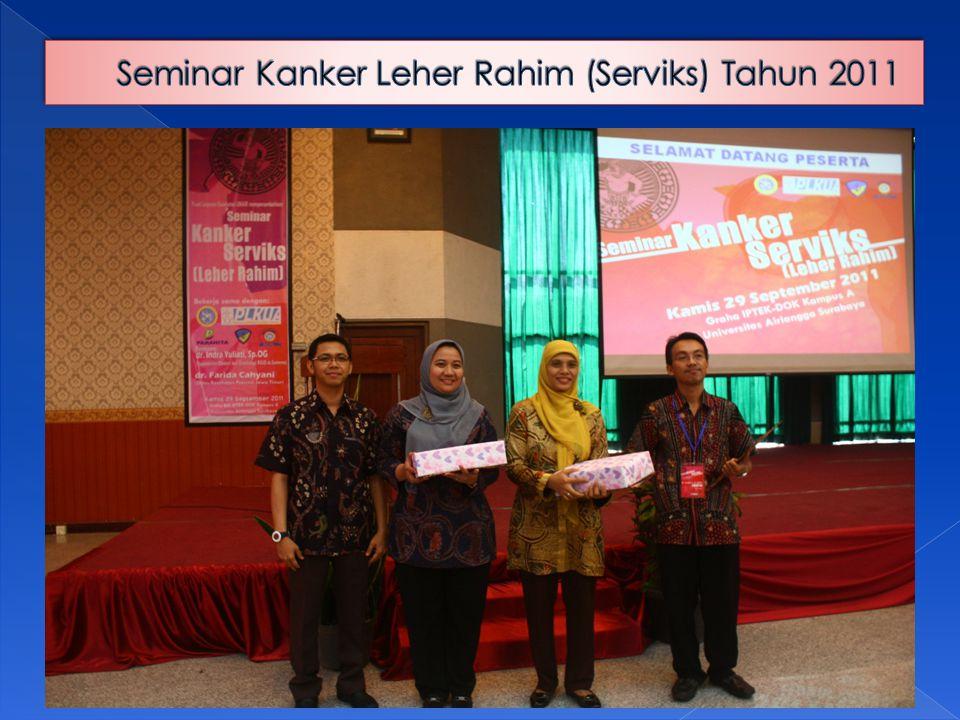 Seminar Kanker Leher Rahim (Serviks) Tahun 2011