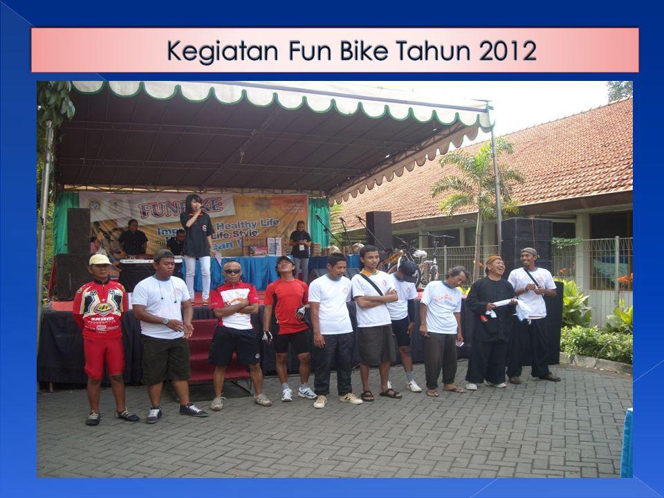 Kegiatan Fun Bike Tahun 2012