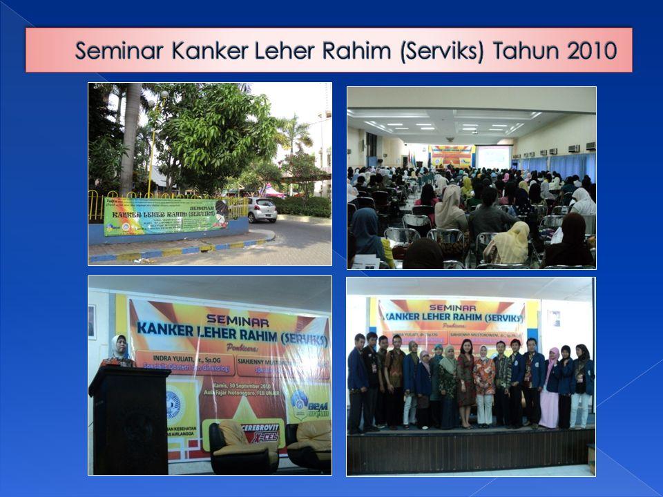 Seminar Kanker Leher Rahim (Serviks) Tahun 2010