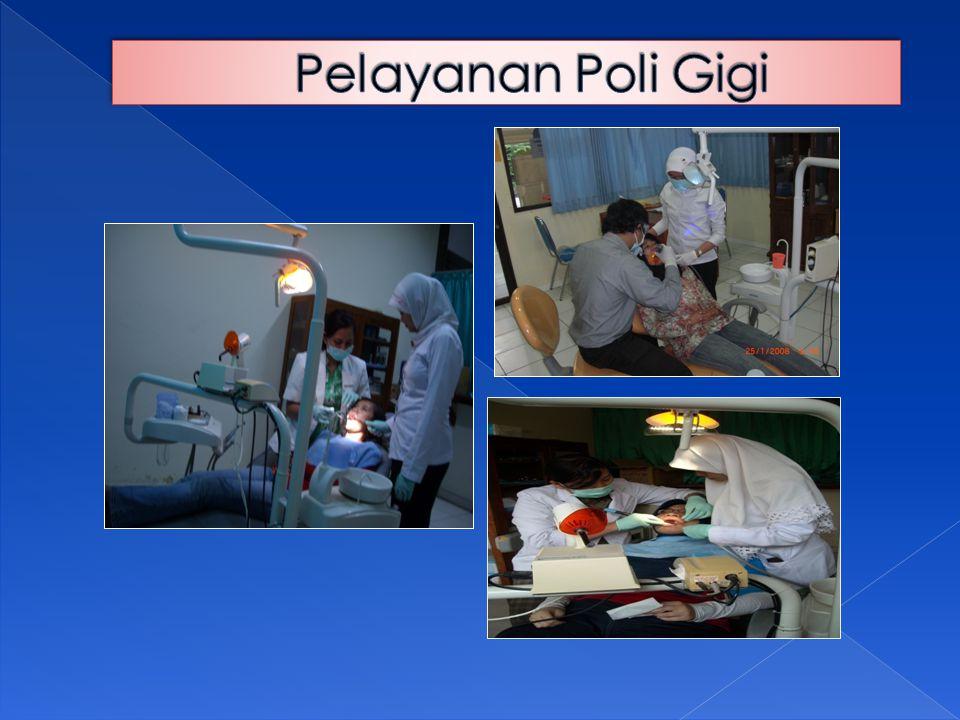 Pelayanan Poli Gigi