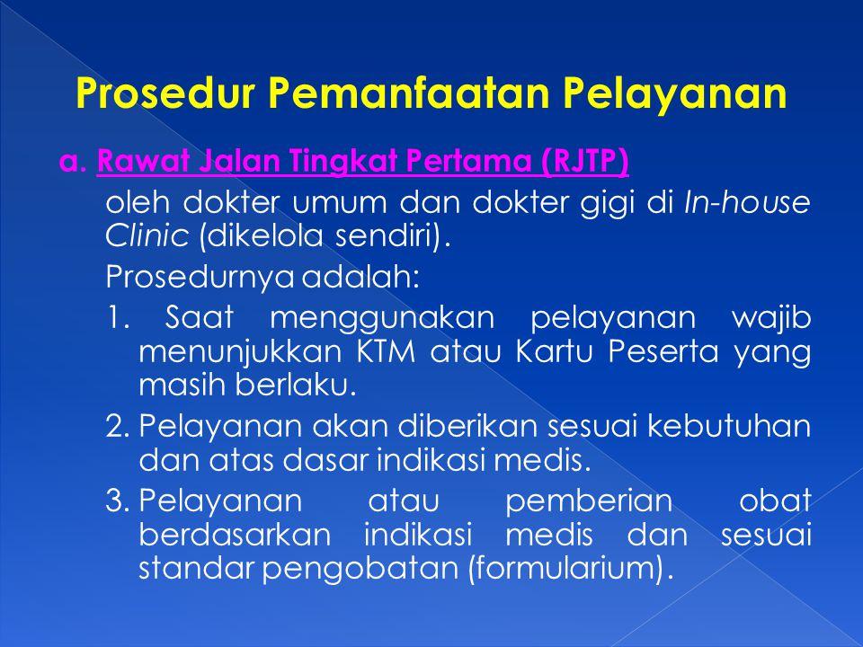 Prosedur Pemanfaatan Pelayanan