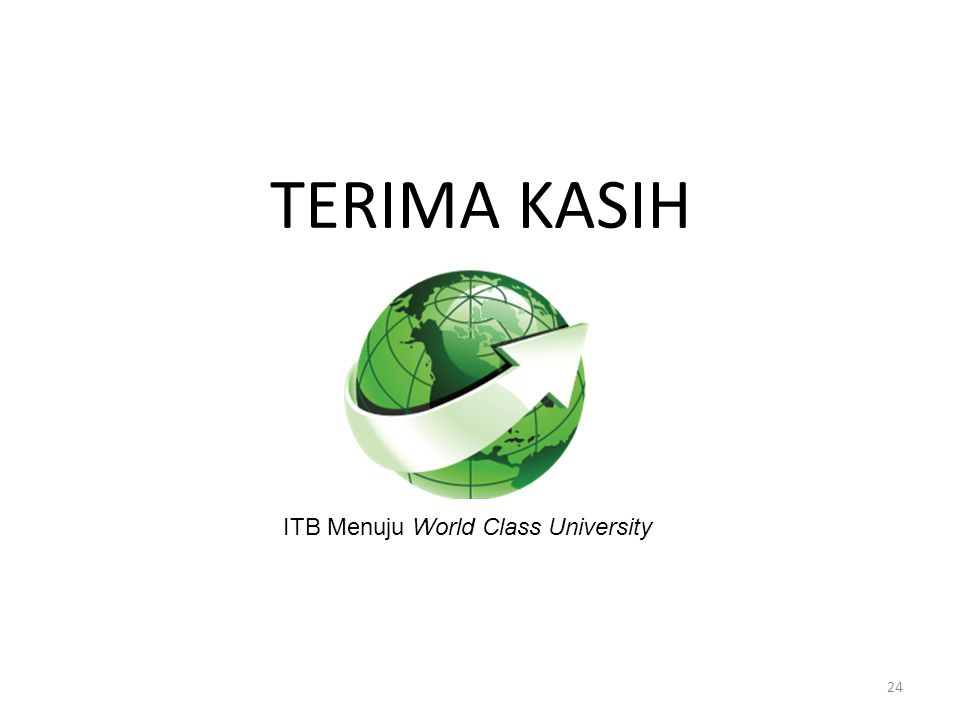 ITB Menuju World Class University