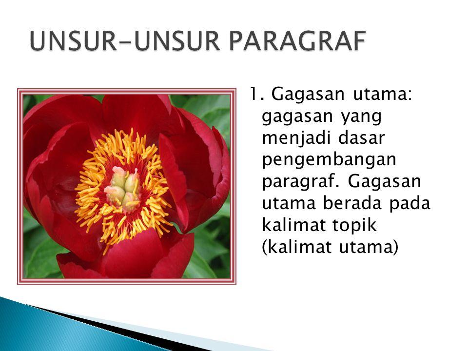 UNSUR-UNSUR PARAGRAF