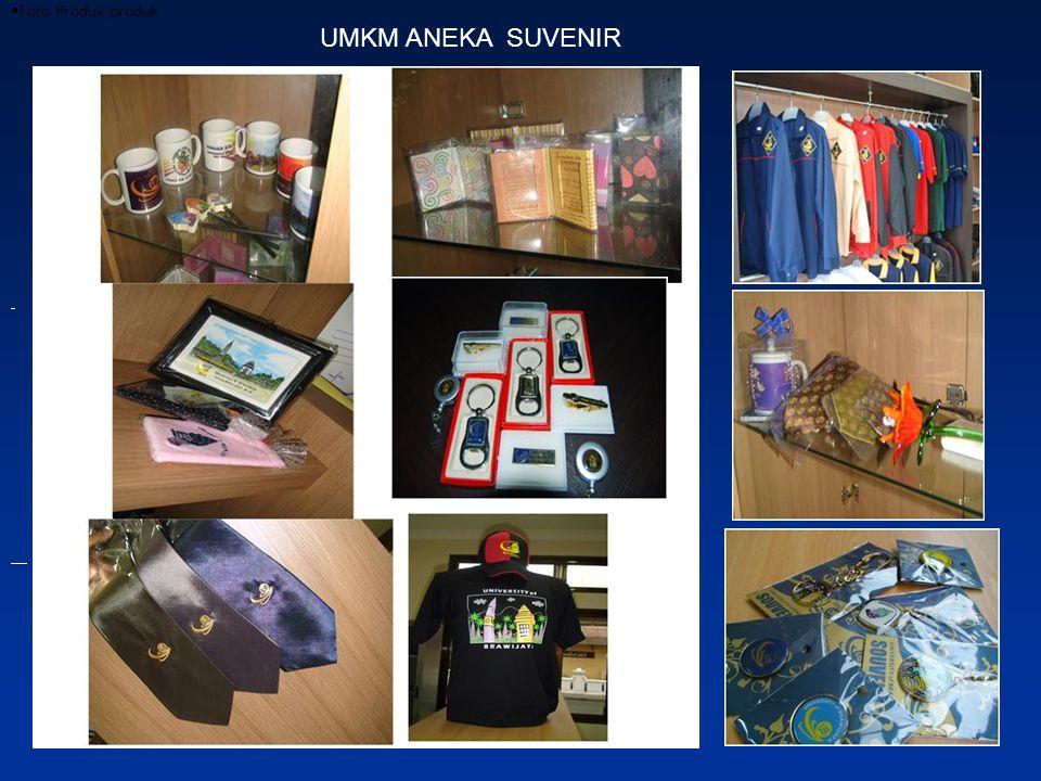 Foto Produk-produk UMKM ANEKA SUVENIR