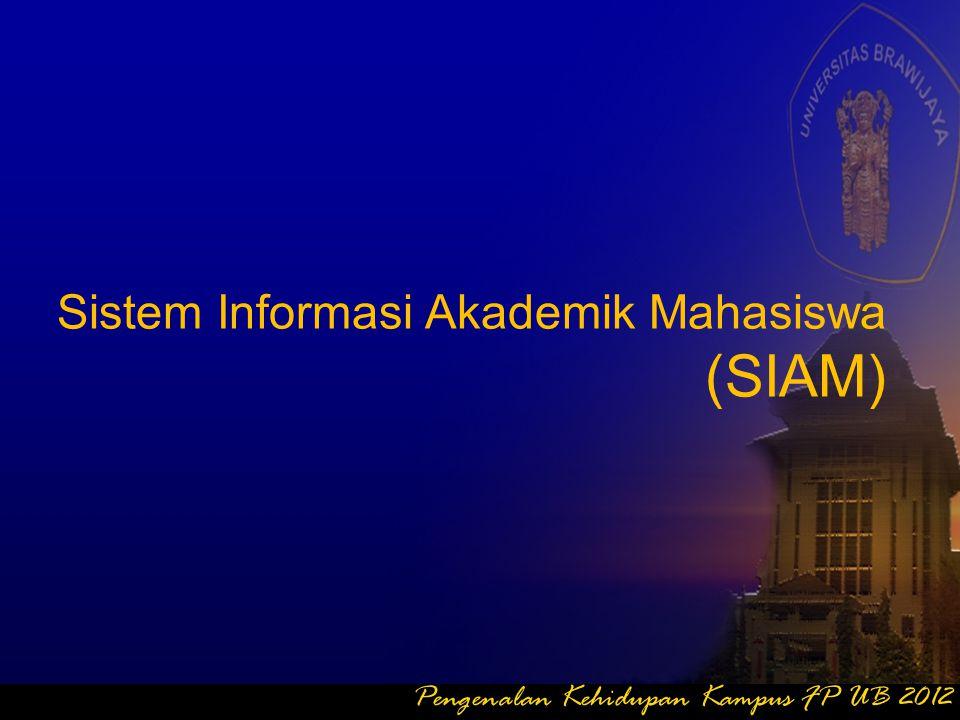 (SIAM) Sistem Informasi Akademik Mahasiswa