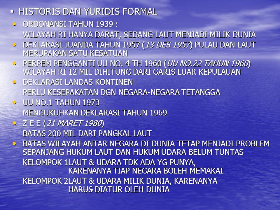 HISTORIS DAN YURIDIS FORMAL