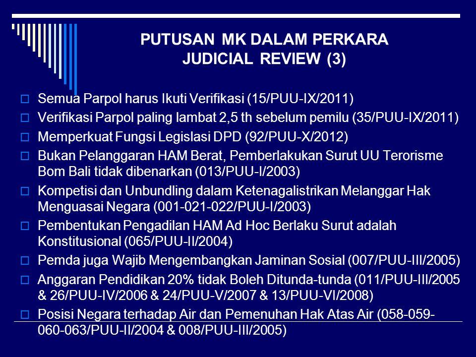 PUTUSAN MK DALAM PERKARA JUDICIAL REVIEW (3)