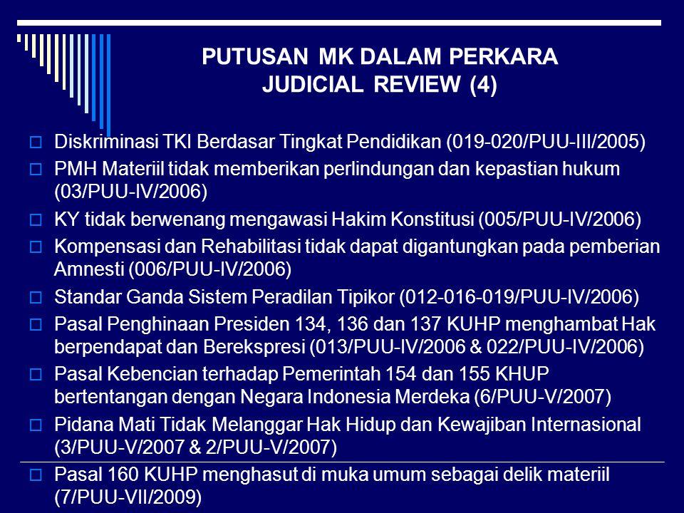 PUTUSAN MK DALAM PERKARA JUDICIAL REVIEW (4)