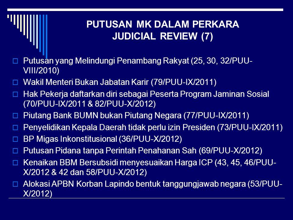 PUTUSAN MK DALAM PERKARA JUDICIAL REVIEW (7)