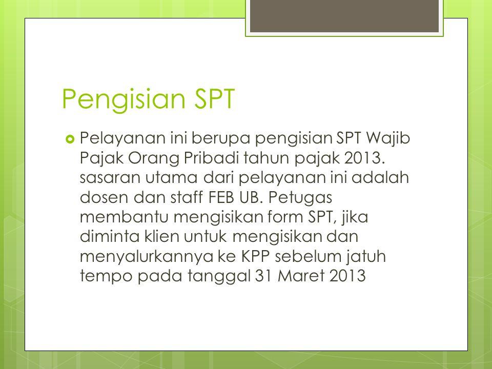 Pengisian SPT