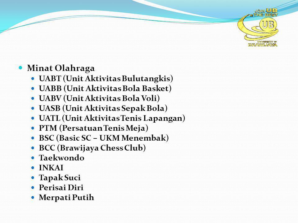 Minat Olahraga UABT (Unit Aktivitas Bulutangkis)