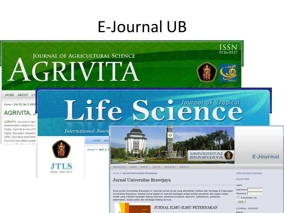 E-Journal UB