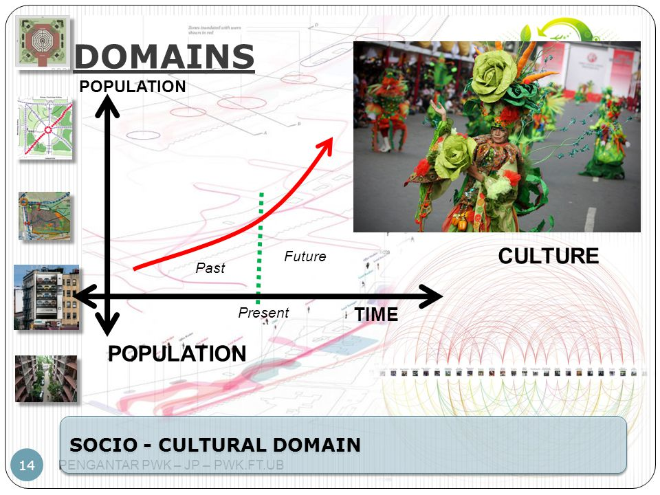 DOMAINS CULTURE POPULATION TIME SOCIO - CULTURAL DOMAIN POPULATION