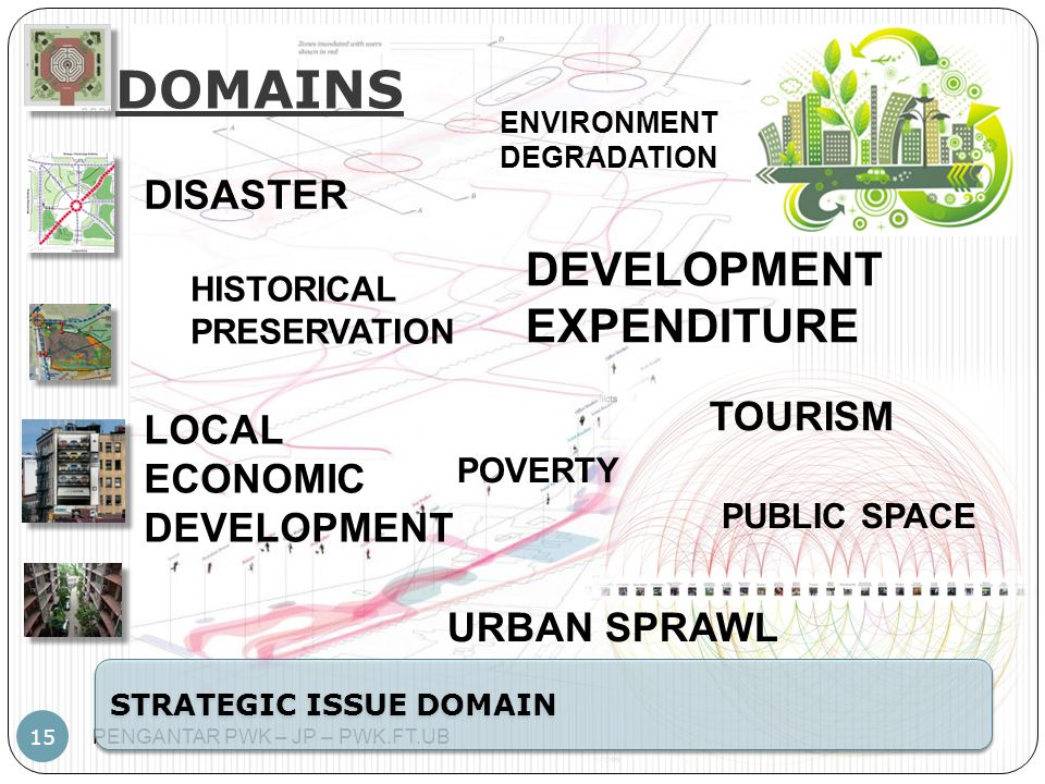 DOMAINS DEVELOPMENT EXPENDITURE DISASTER TOURISM