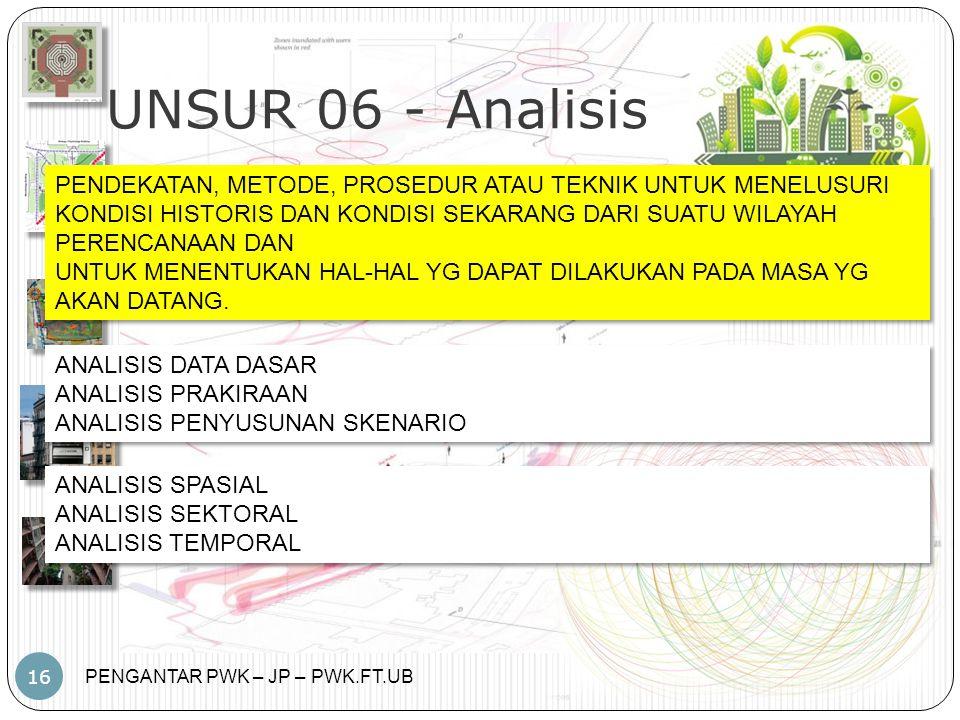 UNSUR 06 - Analisis