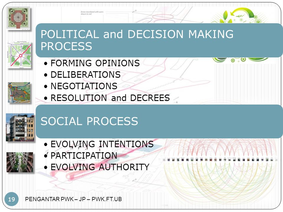POLITICAL and DECISION MAKING PROCESS