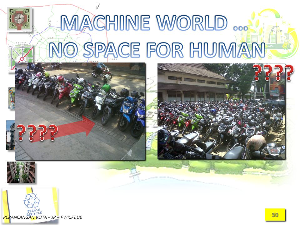 MACHINE WORLD … NO SPACE FOR HUMAN
