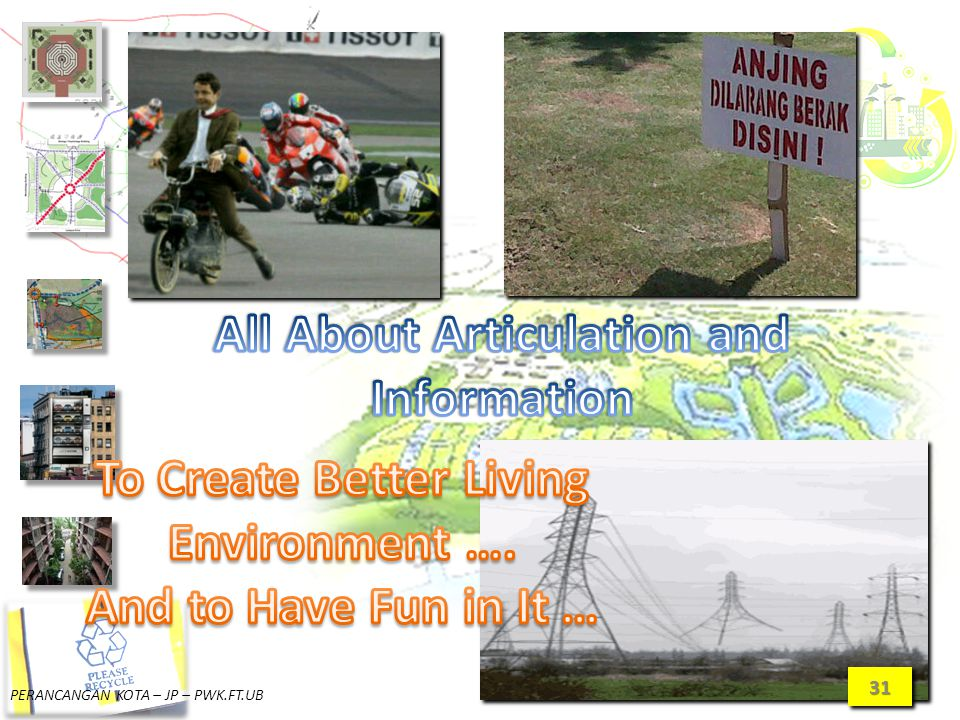 All About Articulation and To Create Better Living Environment ….