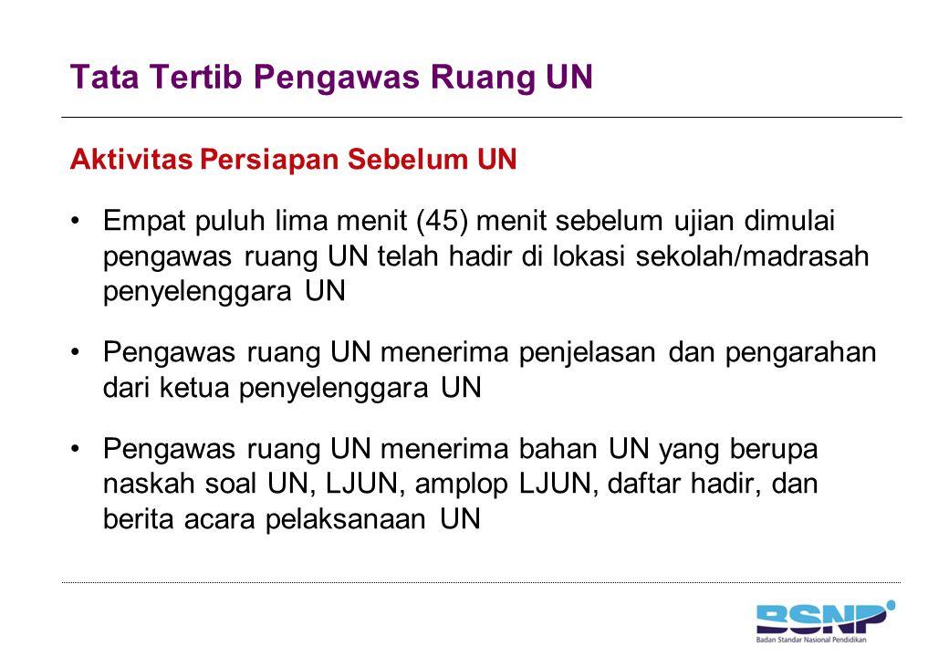 Tata Tertib Pengawas Ruang UN (1)